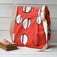 Water resistant  / SUMMER DREAM in red diaper bag  8 by ikabags
