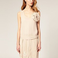 ASOS | ASOS SALON Chiffon Flapper Dress at ASOS