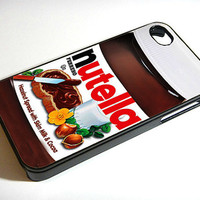 Nutella iphone 4 case iphone case  iphone 4s case by ExpressoPrint