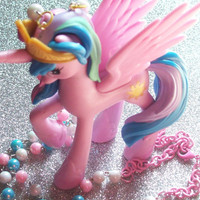 My Little Pony Princess Celestia Necklace from On Secret Wings