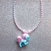 Lotus Blossom Spa Pony Necklace from On Secret Wings