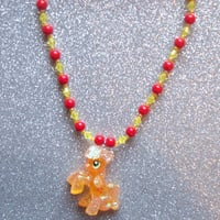 Glitter Applejack Necklace  from On Secret Wings