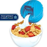 Amazon.com: Stay Fit DLX Cereal to Go, EZ Freeze: Kitchen &amp; Dining