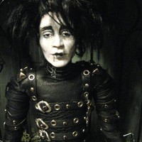 OOAK Edward Scissorhands Art Doll by ArtdollImaginarium on Etsy