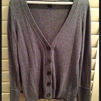 Periwinkle Knitted Cardigan