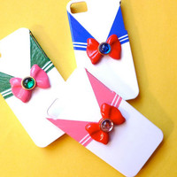 Custom Sailor Chibi Moon Inspired iPhone 4 by FantastiquePlastique