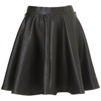 Black Full Skater Skirt - Skirts - Clothing - Topshop