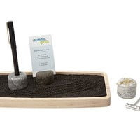 DESKTOP ZEN GARDEN | Office, Workplace, Cubicle, Business Card Holder, Pen, Organizer, Stress Reliever, Coworker Gift | UncommonGoods