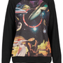 Planet Motif Sweat - Jersey Tops - Clothing - Topshop