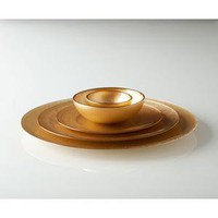 Shiraleah -  Lino dinner and serving plates - Assorted Colors #SL-10-93-003 -005 -007 -009
