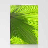 Palm Series IV Stationery Cards by Rosie Brown | Society6