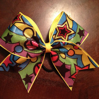 Groovy Cheer Bow