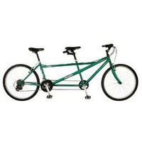 "NEW Pacific Dualie Tandem Bike Bicycle 26"" Wheels 21 Speed Shimano Cruiser"