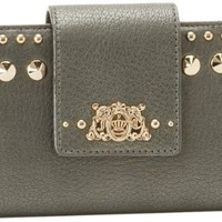 Juicy Couture Continental YSRU2409-45 Wallet,Pewter,One Size