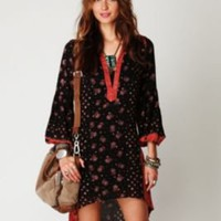 Free People Shapeless Printed Dress at Free People Clothing Boutique