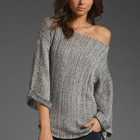 GODDIS Casey Sweater in Navy Cream at Revolve Clothing - Free Shipping!
