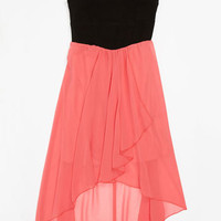 Roxette High/Low Dress (Little Girls & Big Girls) | Nordstrom