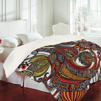 Valentina Ramos Paradise Bird Duvet Cover