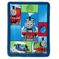 Thomas the Train Fleece Throw