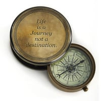 Bombay &amp; Co, Inc.::Accessories::Novelty::Life is a Journey Compass