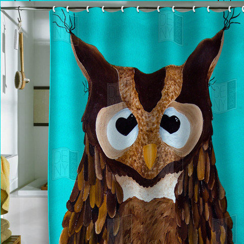 Mandy Hazell Owl Love You Shower Curtain From Deny Designs