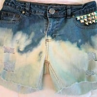 Super Sale: High Waisted Jean Shorts