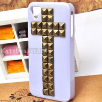 handmade iphone 4s case, iphone 4 cases iphone cover skin iphone 5 case - rivet iphone 5 cases