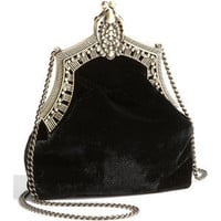 House of Harlow 1960 'Rey' Velvet Pouch Black One Size - Polyvore