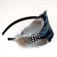 Flapper Feather Headbands : katyelliott.com - Polyvore