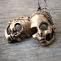 Dead barbie earrings dangling skulls titanium &amp; by AnnaSiivonen