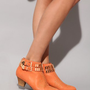 Gold studded sienna booties [Jec8410] - &amp;#36;274 : Pixie Market, Fashion-Super-Market