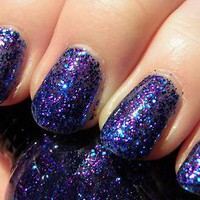 NEW Santee 3d Glitter Nail Polish Art Varnish Color Design