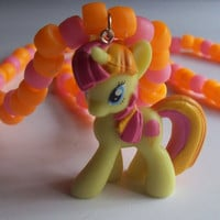 My Little Pony Sweetcream Scoops Necklace from On Secret Wings
