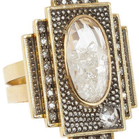 Art Deco Square Precious Stone Ring, Moritz Glik. Shop the latest Moritz Glik collection at Liberty.co.uk