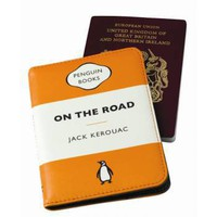 Classic Penguin Book Passport Cover - On The Road - Gifts For Him from the gifted penguin UK