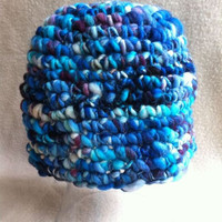 City Scape  one of a kind hat done in by HookinItbyBellaBeanz