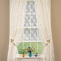 Lace Curtains Country Lace Panel                    - Country Curtains
