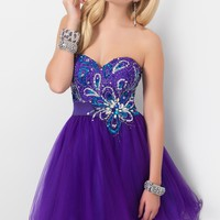 Homecoming dresses by Blush Prom Homecoming Style 9414
