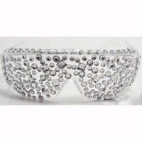 Jersey Shore Rhinestone Sunglasses Glasses