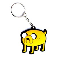 Adventure Time Jake 3-d Rubber Keychain
