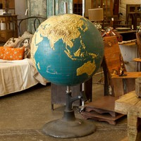 Vintage Large Globe - Accents - Accessories