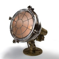 Antique Brass Ship Search Light  - Lighting