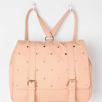 Star-Stud Square Backpack
