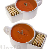 Soup &amp; Cracker Mugs