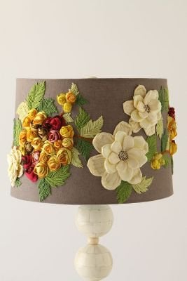 Rose Landscape Shade - Anthropologie.com