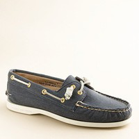 Women&#x27;s the vacation shop - shoes - Sperry Top-Sider?- Authentic Original 2-eye boat shoes in twill - J.Crew