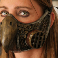 Steampunk Owl Gas Mask Respirator