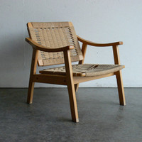 Vintage Danish Style Mid Century Modern Lounge Chair by CoMod