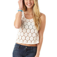 Crochet Crop Tank