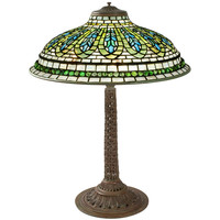 Gentian Tiffany Lamp at 1stdibs